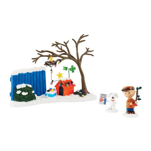 Department 56 Peanuts True Meaning of Christmas Set